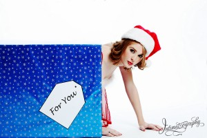 Dallas Fort Worth Christmas Boudoir Photography 1008