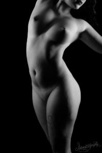 Dallas Boudoir Intimate Pinup Nude Photography 17