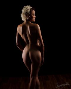 Dallas Boudoir Intimate Pinup Nude Photography 24