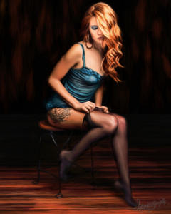 Dallas Boudoir Intimate Pinup Photography 02