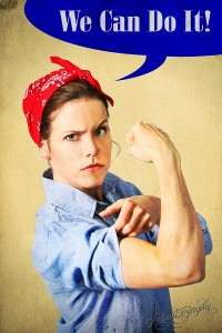 Dallas Fort Worth Pinup Photography - We Can Do It 3