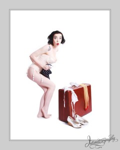 Dallas Pinup Photography Hey Get Out